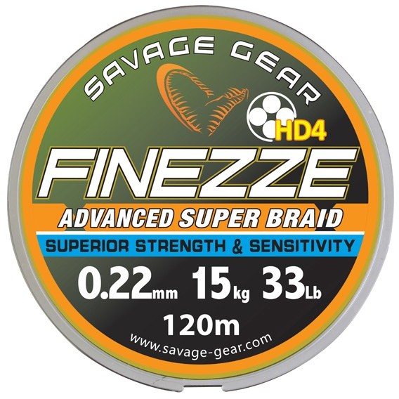 Fir Finesse Yellow 019mm/12 8kg 120m