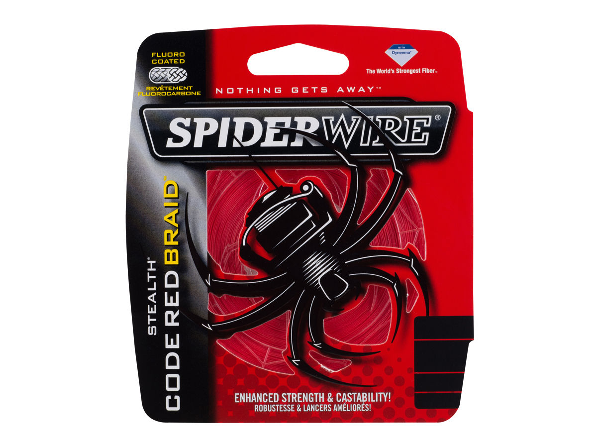Spiderwire New Stealth Red 0,14mm 10,2kg 110m