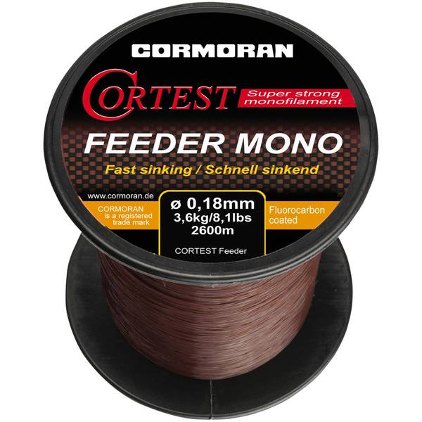 Fir Cormoran CORTEST FEEDER 0.25MM/6,3KG/1400M