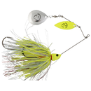 Savage Gear Da'Bush Spinnerbait yellow silver holo flame nr.3