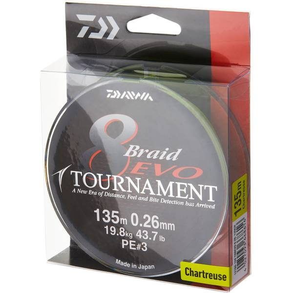 Fir Daiwa Tournament 8 Braid Evo 0.20mm/300m