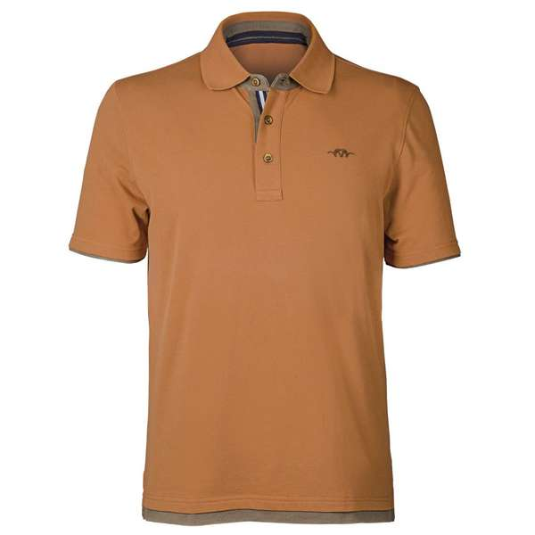 Tricou Blaser Polo Till Dark Orange Marimea S