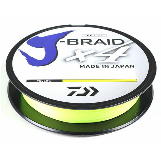 Fir Daiwa J-Braid X4 0.07mm 2,6kg 135m Galben