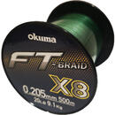 Fir Okuma Braid X8 Green 0.26mm 13.6kg 500m