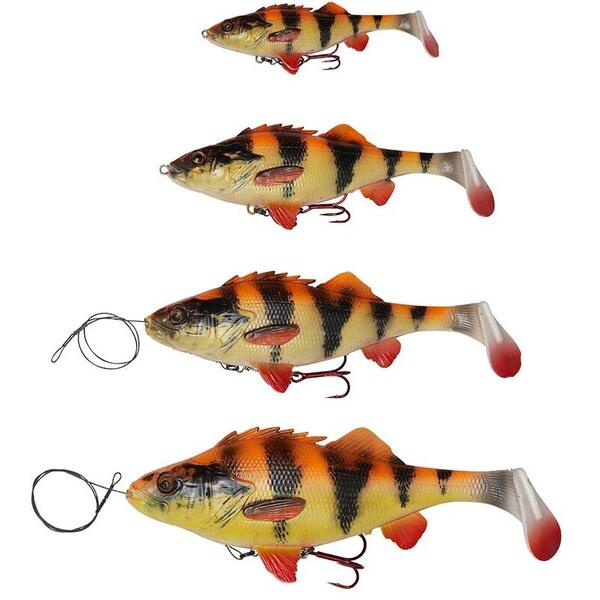 Vobler Savage Gear 4D Perch Shad 12.5cm 23g Rosu