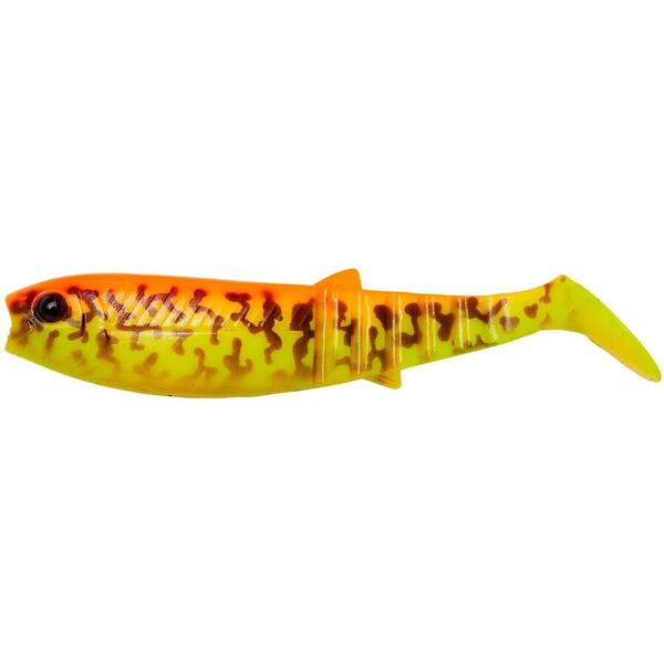 Set Shad Savage Gear Cannibal 6.8cm 3g Burbot Golden 4Buc/Plic