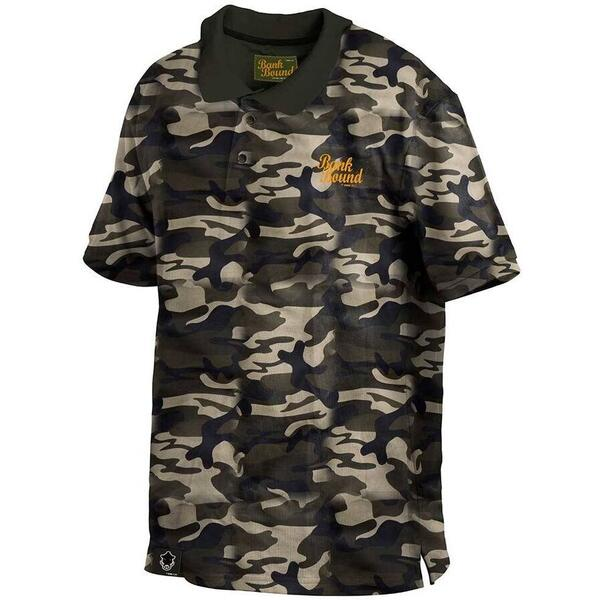 Tricou ProLogic Bank Bound Polo Camo Marime M