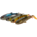 Set Shad Savage Gear Craft Cannibal 12.5cm 20g Dark Water Mix 4Buc/Plic
