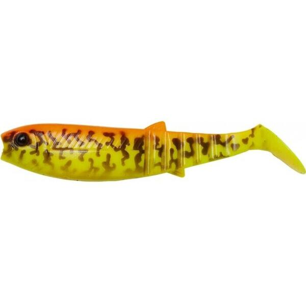 Set Shad Savage Gear Cannibal 8cm 5g Orange/Galben 4Buc/Plic
