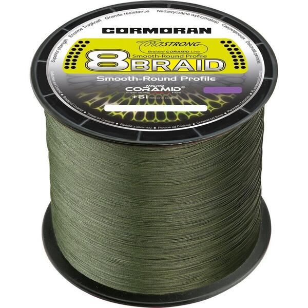 Fir Cormoran Corastrong 8Braid 0.12mm 7.7kg 3000m Verde