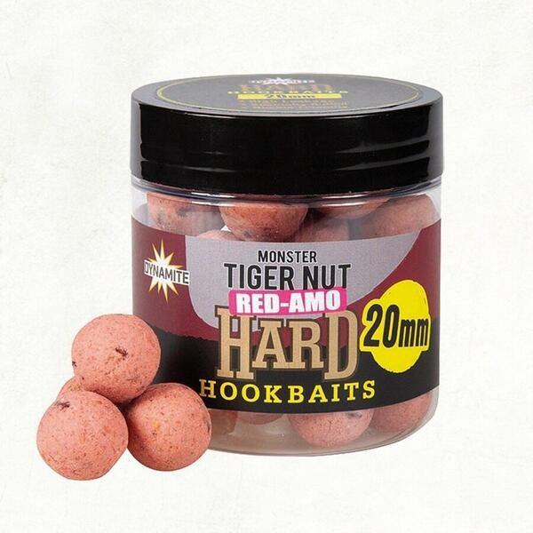 Dynamite  Baits Monster Tiger Nut Red - Amo Hard Hook Baits 20mm cutie