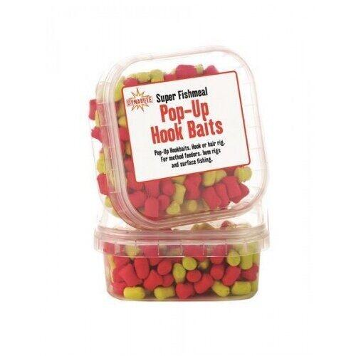 Dynamite  Baits Super Fishmeal Pop-Up Pellets Yellow/Red Cutie