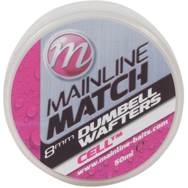 Mainline Wafters Match Dumbell White Cell 6Mm